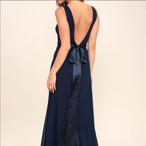 Bridal Navy Maxi That Special Something Lulus S